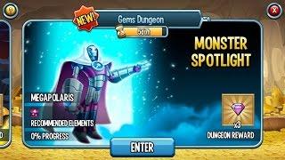 getlinkyoutube.com-Monster Spotlight Megapolaris Monster Dungeon on Monster Legends