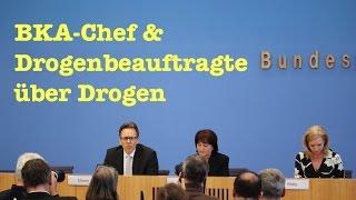 getlinkyoutube.com-Naive Fragen an BKA-Chef & Drogenbeauftragte zu Drogen