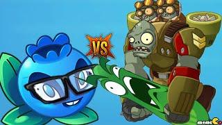 getlinkyoutube.com-Plants Vs Zombies 2: Sky Castle 3 Star Daily Events Electric Blueberry Challenge! (PVZ 2 China)