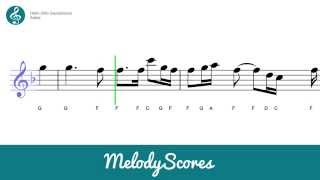 getlinkyoutube.com-Alto Sax | Adele - Hello Sheet Music