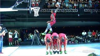 getlinkyoutube.com-Michael Jordan's Jumpman #FirstToFly Pro Dunk Contest