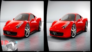 getlinkyoutube.com-Panasonic 3D Demo 06 - Design For Passion (Italian Cars) - 1080P Side by Side