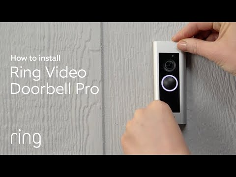 How to Install Ring Video Doorbell Pro