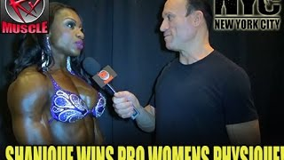 getlinkyoutube.com-Shanique Grant Wins Pro Women's Physique At The 2016 NY PRO!