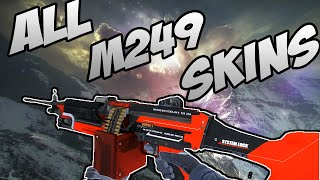 getlinkyoutube.com-CS:GO - M249 - All Skins Showcase + Price | Все Скины M249 + Цены