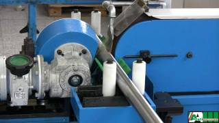 getlinkyoutube.com-Centerless belt grinding machine - Aceti macchine