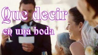getlinkyoutube.com-Que decir en una boda, ideas y consejos para discursos