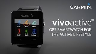 Garmin vívoactive™ GPS Smartwatch incl. Sport-Apps