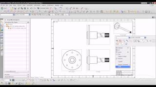 getlinkyoutube.com-NX 8.5 - 3 Create a Break out section view with a view break DTM