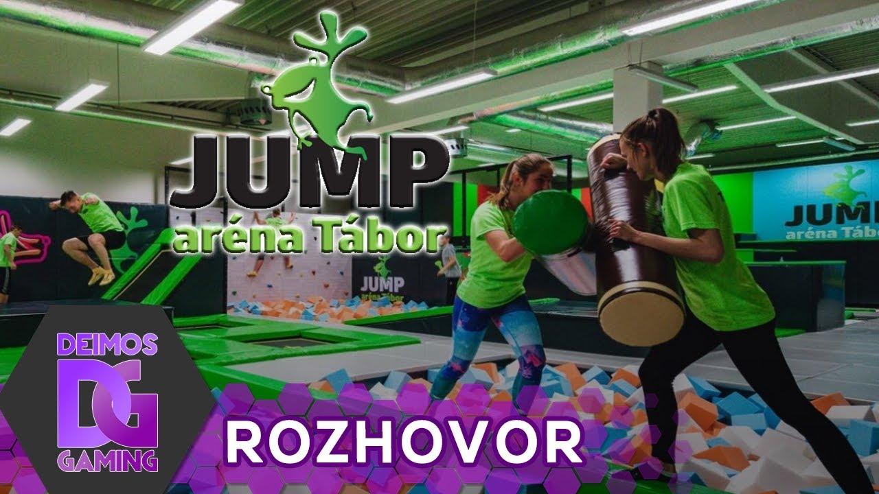 JUMP aréna Tábor - Trenéři představují atrakce