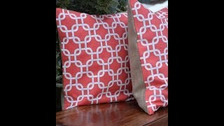 getlinkyoutube.com-How to Make a No Sew Pillow - DIY TUTORIAL - Thrift Diving