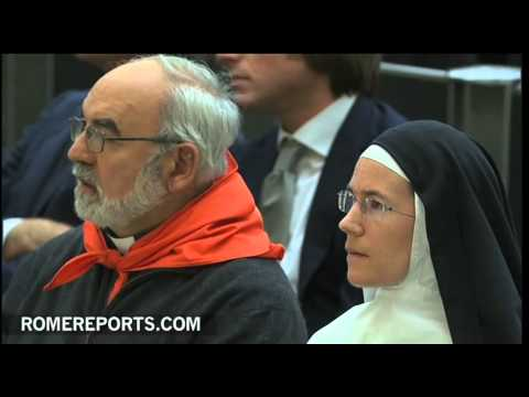 Pope highlights Mary's faith in God in advent of Nativity