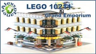 getlinkyoutube.com-Lego Shop. 10211 Grand Emporium Build Review.