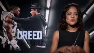 getlinkyoutube.com-Creed Interview - Tessa Thompson