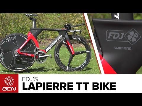 FDJ's Lapierre Aerostorm DRS Time Trial Bike