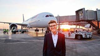 getlinkyoutube.com-Air France 787-9 Inaugural Flight VIP Event | Special Flight Experience Around France
