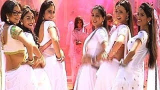 getlinkyoutube.com-Sanaya Irani and Drashti Dhami dance performance at Colors Holi Party