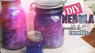 getlinkyoutube.com-DIY Nebula in a Jar 💕 Tumblr Inspired 💕 TWO METHODS
