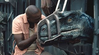 getlinkyoutube.com-Jurassic World Raptor Cage Scene 1080p HD