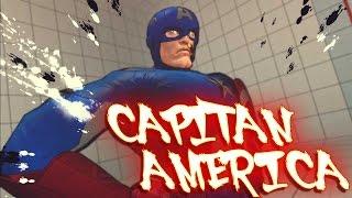 getlinkyoutube.com-Ultra street fighter 4 PC   Capitan America