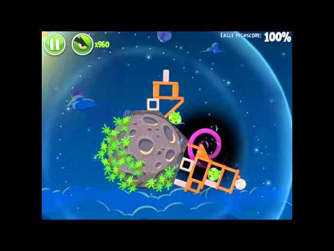 Angry Birds Space Pig Bang 1-7 Space Eagle Walkthrough