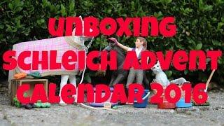 getlinkyoutube.com-SCHLEICH ADVENT CALENDAR 2016 UNBOXING + korting | horzielover