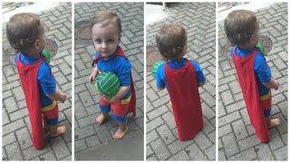 DIY : : Capa de super herói (de camiseta) - Carla Vila Verde