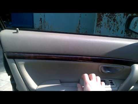 Проблема с замком двери Volvo S80