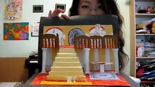 getlinkyoutube.com-How to make a 3D pop-up card or book (re-upload)