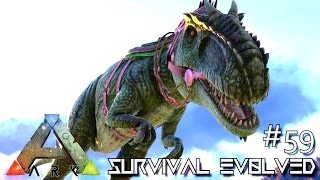 getlinkyoutube.com-ARK: Survival Evolved - TAMING GIGANOTOSAURUS SOLO - Lvl 200 GIGA !!! [Ep 59] (Server Gameplay)