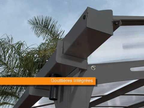 CARPOT METAL : Un abri voiture modèle ARCADIA - Chez FRANCE ABRIS