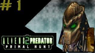 getlinkyoutube.com-Aliens versus Predator 2: Primal Hunt - Predator Campaign #1 - Mission 1: Legend 1/2