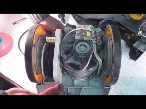 Пылесос Zanussi ZANS710 слабая тяга. Ремонт