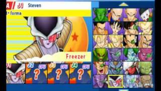 getlinkyoutube.com-(ZARCOS123) Dragon Ball Z Tenkaichi Tag Team Todos los 70 Personajes PSP