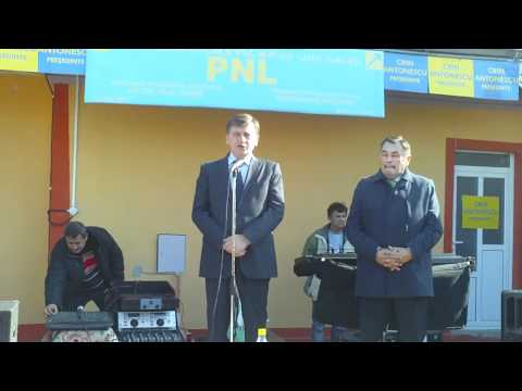 Matca - Crin Antonescu la sfintirea sediul PNL