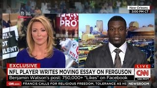 Ο Benjamin Watson κόπηκε στον αέρα στο CNN διότι μίλησε για τον Χριστό [HD].
