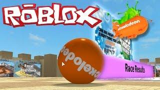 getlinkyoutube.com-LETS GET THAT NICKELODEON BLIMP!   Roblox Super Blocky Ball