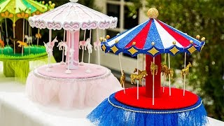 getlinkyoutube.com-How To - How To make a Sparkling Carousel - Hallmark Channel