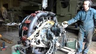 getlinkyoutube.com-sherman tank engine