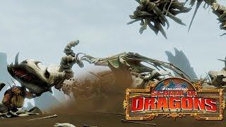 getlinkyoutube.com-How to Train Your Dragon : School of Dragons #21 'PINK BONEKNAPPER'