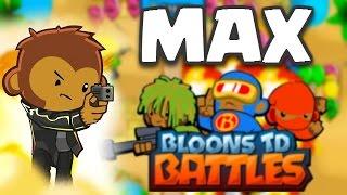 getlinkyoutube.com-Bloons TD Battles | MAX LEVEL COBRA! OMG EPIC TROOP! | BTD Battles Maxed Out Gameplay