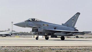جنگنده های بریتانیا بر فراز مواضع داعش در عراق به پرواز در آمدند