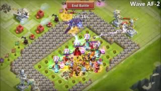 getlinkyoutube.com-Castle Clash - HBM AF Attempts After Recording A Black Screen While Rolling Gems...021317