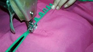 getlinkyoutube.com-Kurti cutting and stitching method in hindi