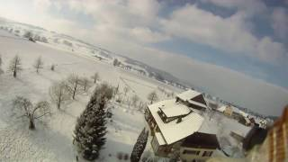 getlinkyoutube.com-FPV winter drone flying low with a GoPro HD