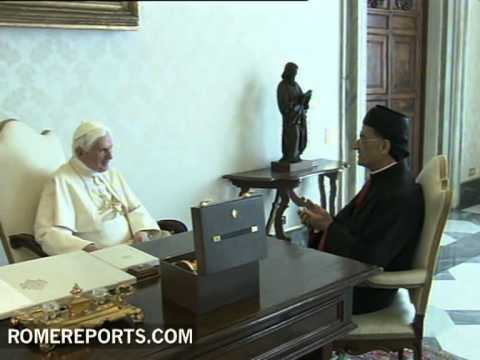 Pope tells new Patriarch of Maronite Church to spread Gospel with urgency