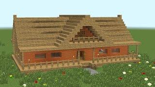 getlinkyoutube.com-MINECRAFT: How to build 2-room wooden house #2