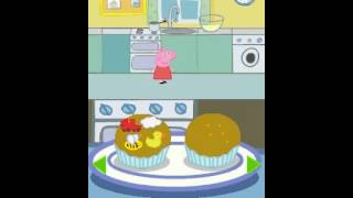 getlinkyoutube.com-Peppa Pig Fun and Games Cupcakes Game