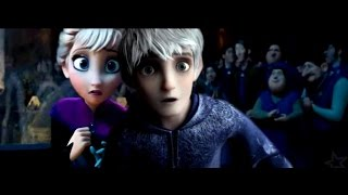 getlinkyoutube.com-Jack Frost and Elsa ❄ Titanic Trailer {Non/Disney Crossover}