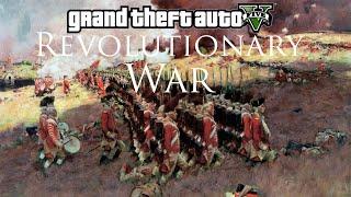 getlinkyoutube.com-GTA V - Revolutionary War Mod (Musket Shootout)